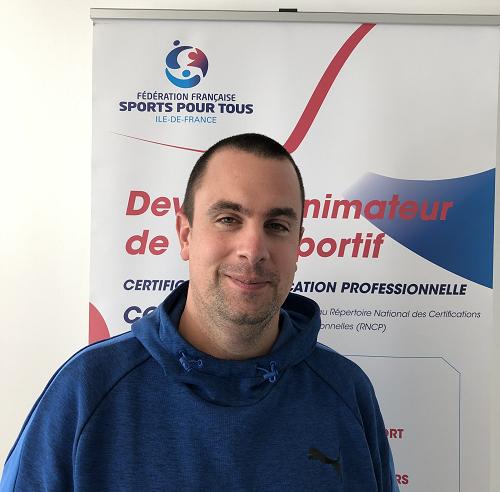 Portrait de Alban Moutier de Sports Pour Tous
